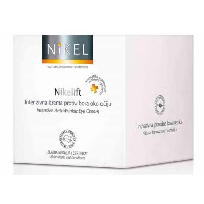 NIKEL, NIKELIFT Przeciwzmarszczkowy Krem pod oczy z Pomarańczą, kwiatem Immortelle, olejkiem sezamowym i wit. E, 15ml