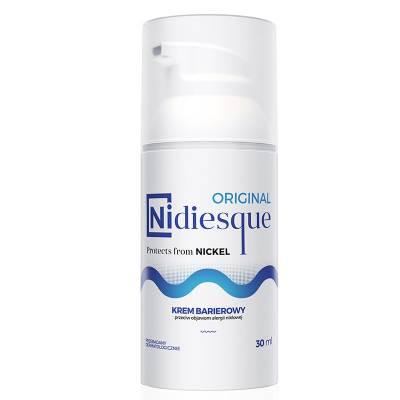 NIDIESQUE ORIGINAL, Barierowy krem do twarzy i ciała przeciw objawom alergii niklowej, 30 ml, KF Niccolum
