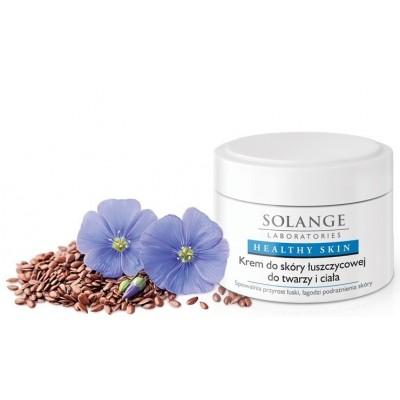 Krem do skóry łuszczycowej do twarzy i ciała, 50 ml, Solange Laboratories