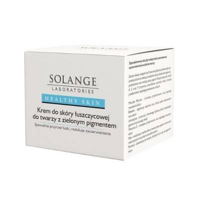 Krem do skóry łuszczycowej do twarzy z zielonym pigmentem, 50 ml, Solange laboratories