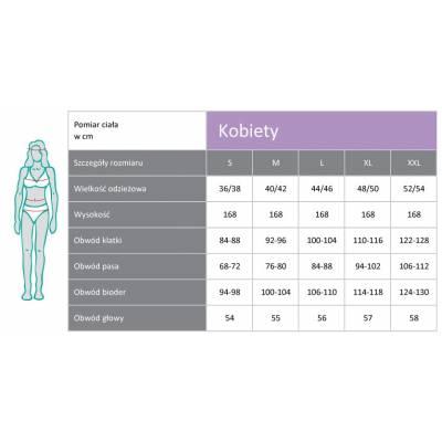 Legginsy dla kobiet PADYCARE pokryte w 100% srebrem