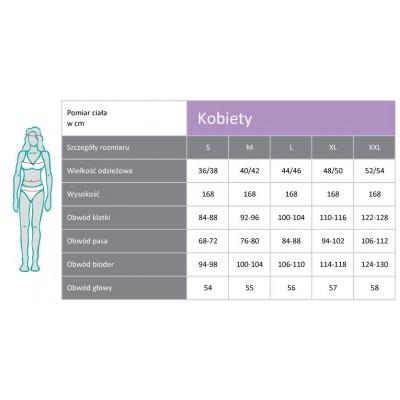 Szorty dla kobiet PADYCARE pokryte w 100% srebrem