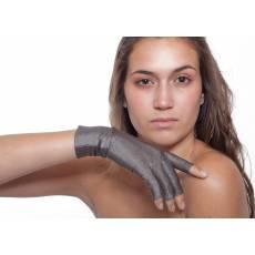 Rękawiczki bez końcówek palców PADYCARE pokryte w 100% srebrem