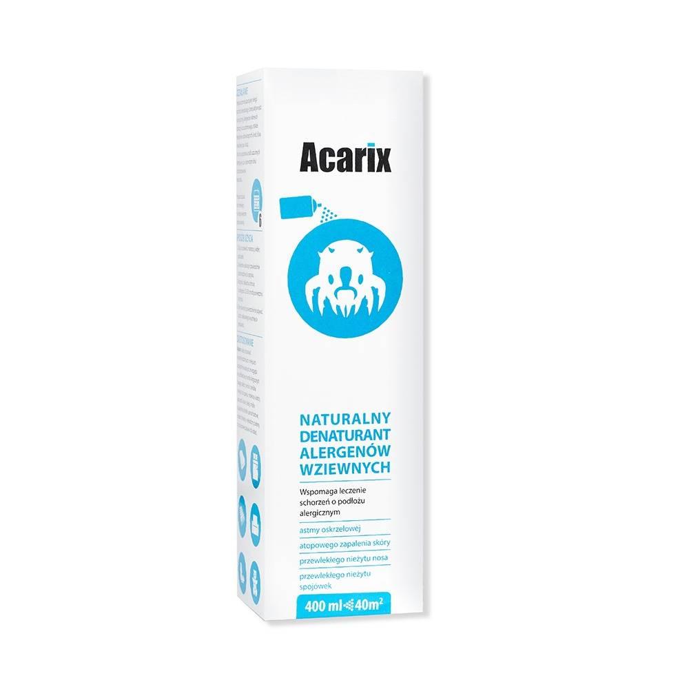 ACARIX Spray - denaturant alergenów kurzu domowego - 400ml