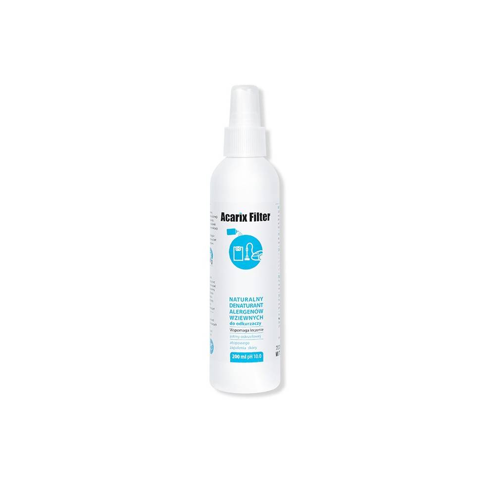 ACARIX Filter - denaturant alergenów wziewnych do odkurzaczy - 200ml