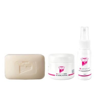 Zestaw podstawowy na atopowe zapalenie skóry (AZS) + mydło Dr Michaels