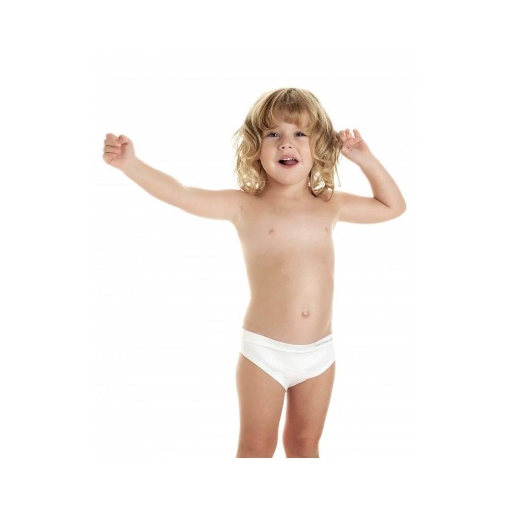Majtki dla dziewczynek INTIMATE, lecznicze na AZS, DermaSilk