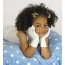 Rękawiczki dziecięce, jedwabne, lecznicze na AZS, SKINNIES