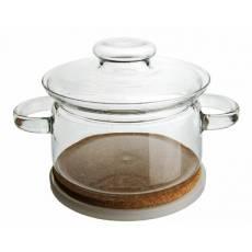 Garnek szklany 2 L, żaroodporny SIMAX - Gourmet, bez niklu