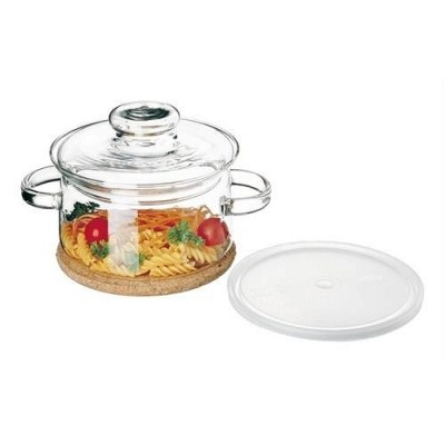 Garnek szklany, żaroodporny  SIMAX - Gourmet, 1L, bez niklu