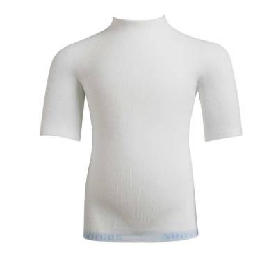 Koszulka jedwabna na krótki rękaw, lecznicza na AZS, SKINNIES
