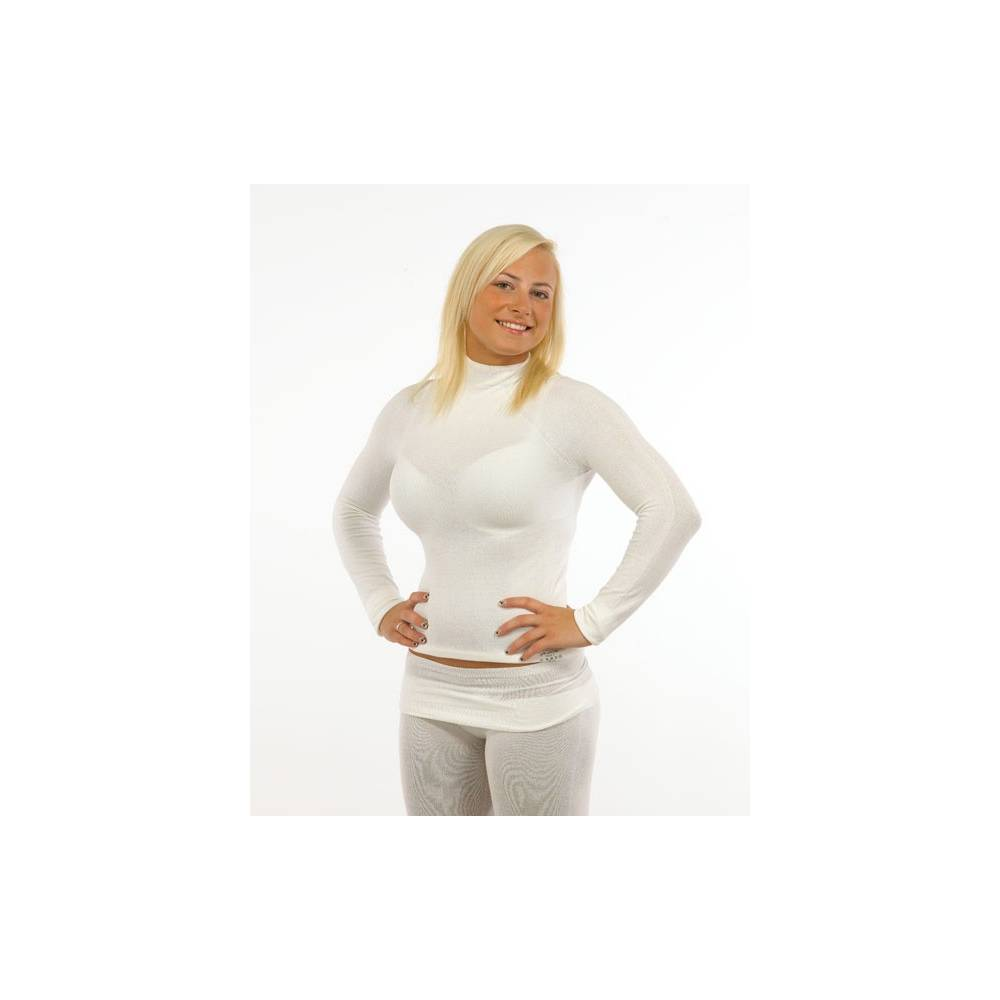 Koszulka dla dorosłych jedwabna, długi rękaw, lecznicza na AZS, SKINNIES